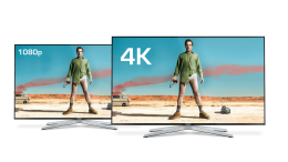 4K and 1080 screens